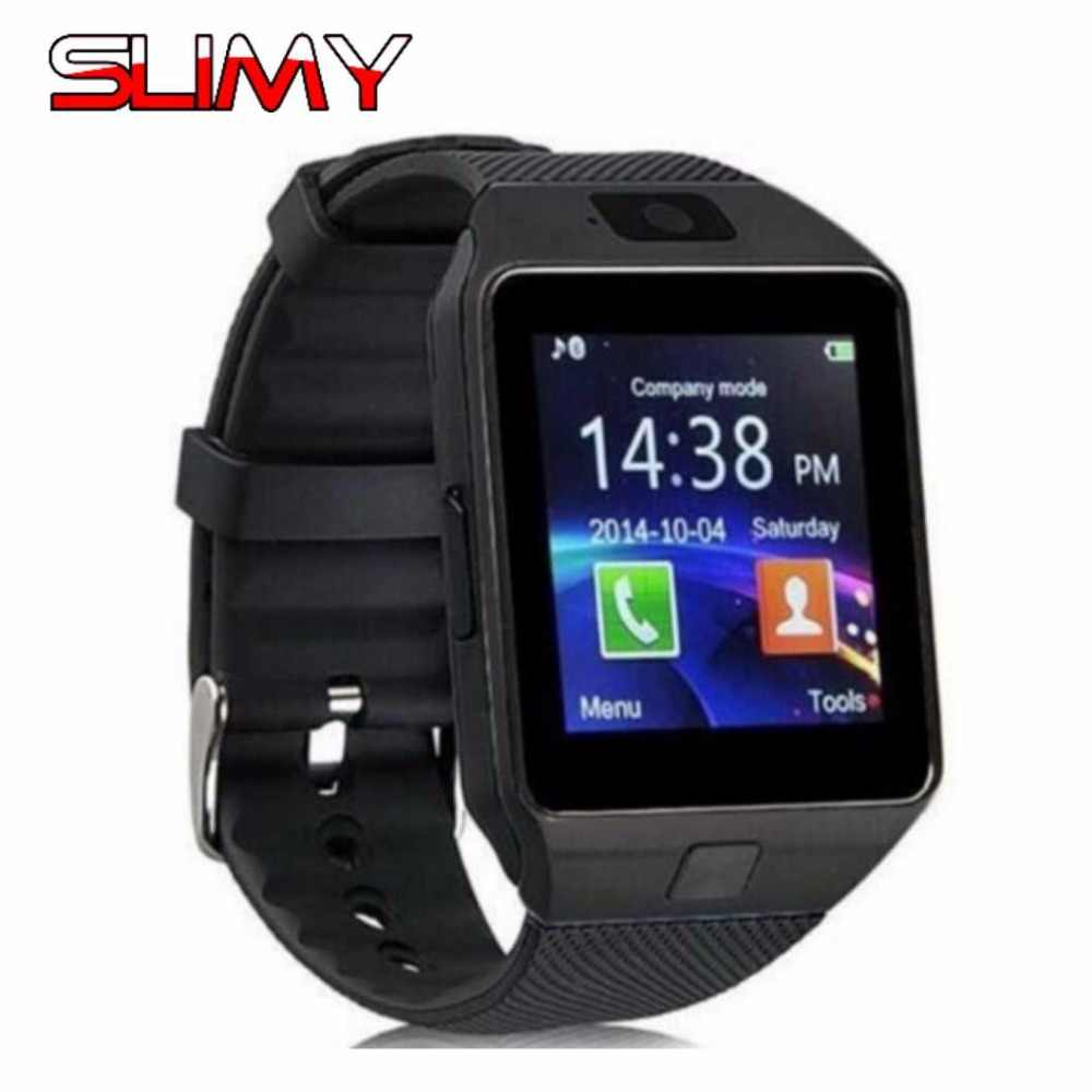 Slimy Bluetooth DZ09 Smart Watch Phone for Men Women Kids Support SIM TF Camera Touch Clocks Hours for Android IOS Smartphones
