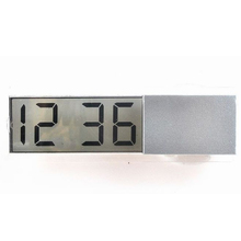 Home Decor Liquid Crystal Display Desk Table Clocks With Suc