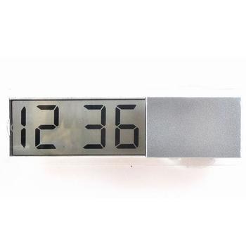 Wystrój domu wyświetlacz ciekłokrystaliczny biurko zegary stołowe z przyssawką LCD zegar cyfrowy zegar samochodowy elektroniczny zegar samochodowy 1 sztuk tanie i dobre opinie Kreatywny Z tworzywa sztucznego Kalendarze Plac 93mm Skoki ruch 33mm DIGITAL