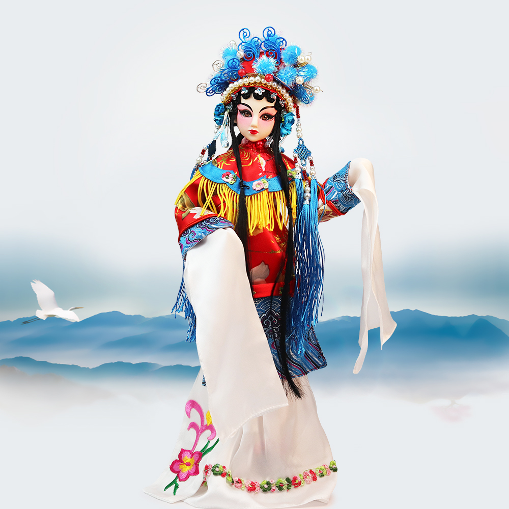 купить Fortune Days East Charm Peking opera character doll 1/6 like BJD Blyth dolls Hua Dan with makeup 14 Joint body High Quality gift по цене 4538.83 рублей
