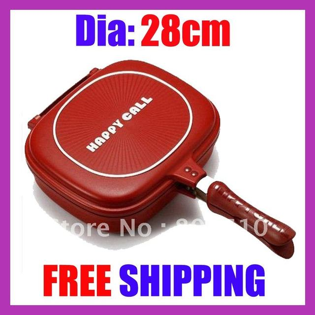 "Happycall Happy Call Double Pan Well Sold to Singapore Maylaysia Indonesia etc""free shipping"""