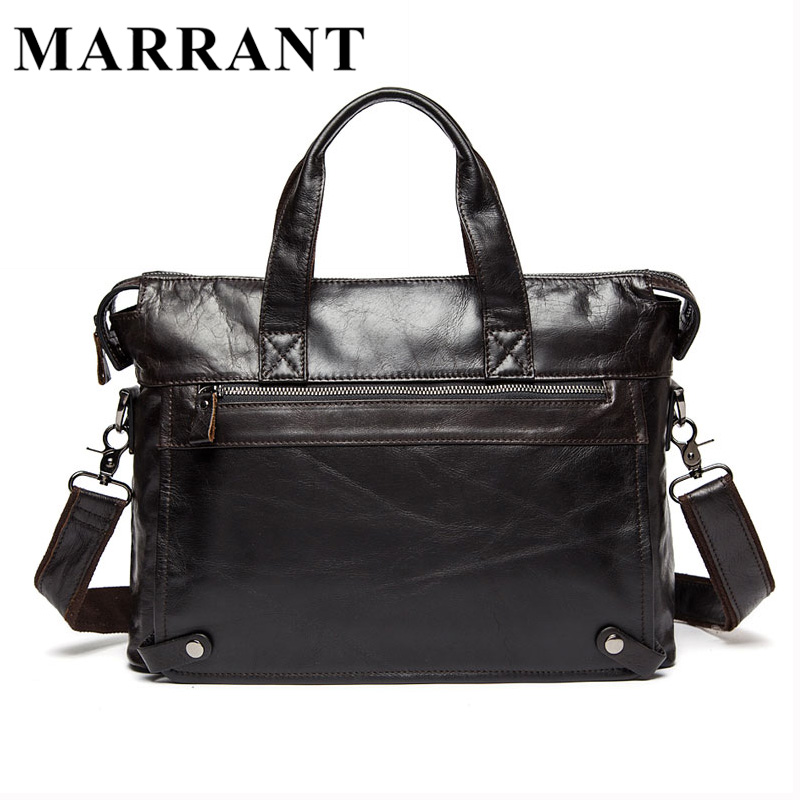 MARRANT Genuine Leather bag Business s