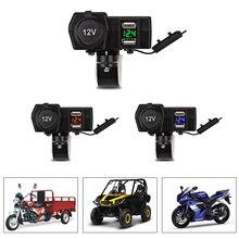 Motor Motorcycle Dual USB Charger Waterproof Motorbike USB Motorcycle C