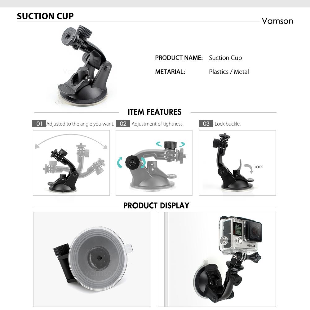 action camera Vamson Gopro Camera Accessories HTB1pMEkswKTBuNkSne1q6yJoXXaR