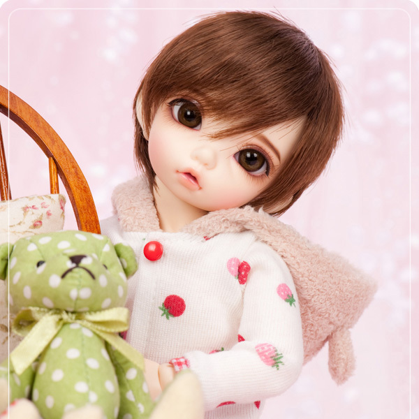 stenzhornBjd doll sd doll 1/6 male doll fairyland Bisou (Boy) joint doll high quality toys free eyes can choose color