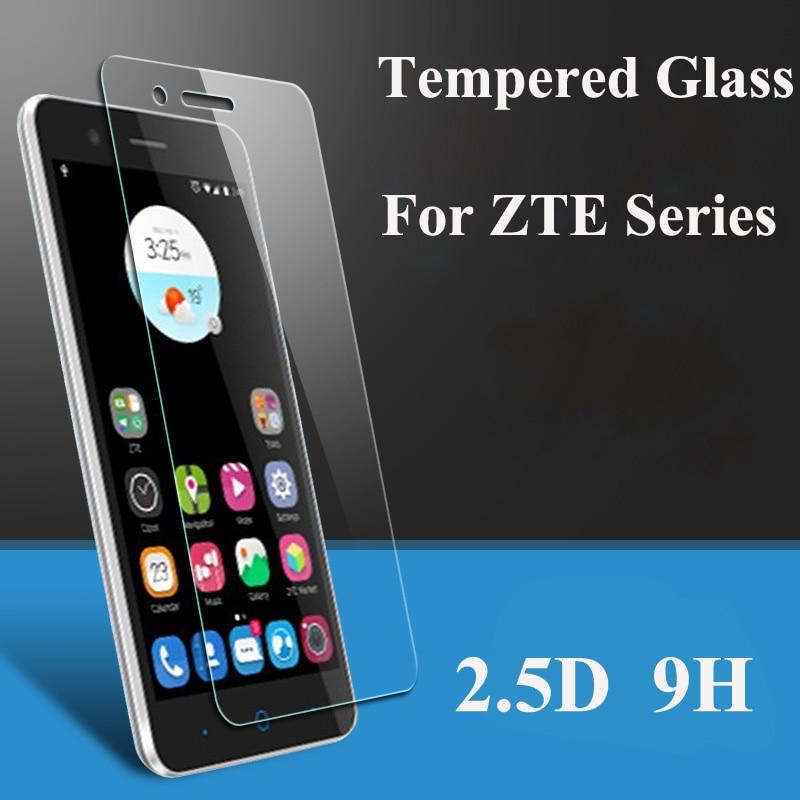 2PCS Tempered Glass For Zte Blade A330 A521 A520 A520C L8 L7 A610 V7 Lite V9 Vita Z10 Screen Protector Film Protective Screen