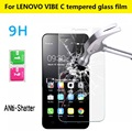 """5.0"""" Explosion-proof Tempered Glass Film For Lenovo VIBE C Anti-Shatter Screen Protector For Lenovo VIBE C2 HD Screen Guard Film"""