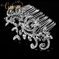 Free Shipping Vintage Rhinstone Bridal Wedding Hair Comb Headpiece