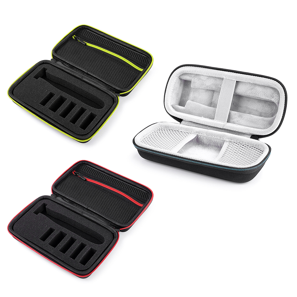 Hard Case Trimmer Shaver Pouch Travel Organizer Carrying Bag For Norelco One Blade QP2520/90 QP2520/70 QP2630/70