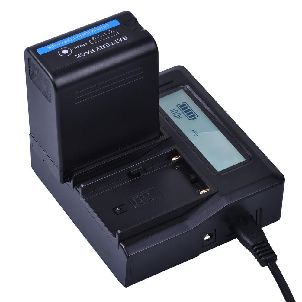 1x 5200mAh BP-U60 BP U60 BPU60 Battery + LCD Fast Charger For Sony BP-U90 BP-U30 PMW-100 PMW-150 PMW-160 PMW-200 PMW-300 PMW-EX1 real capacity bp u60 bp u60 rechargeable camera battery for sony pmw 100 pmw 200 pmw ex1 pmw ex1r pmw ex3 pmw ex260 pmw ex3r