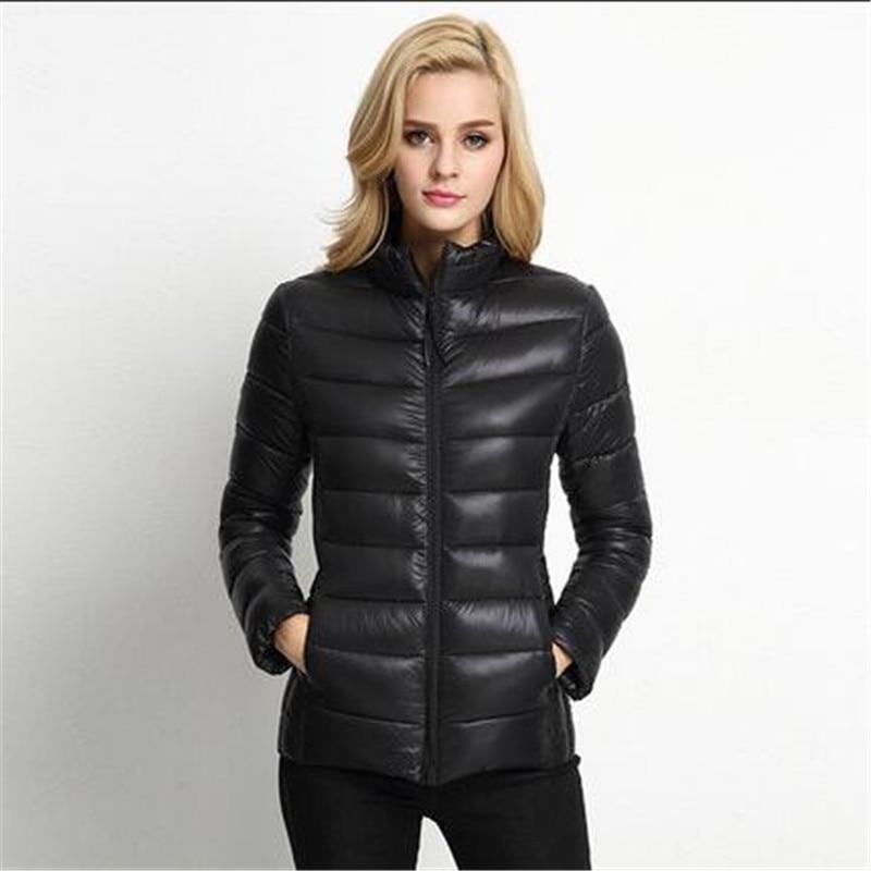 New Winter Down Cotton Jacket Slim Stand Collar Short Wadded Jacket Big Yards Thicken Warm Cotton