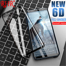 RHR 6D Curved Edge Full Tempered Glass For Samsung Galaxy S8 S9 Plus Screen Protector For Samsung Galaxy S6 S7 Edge Note8 Glass