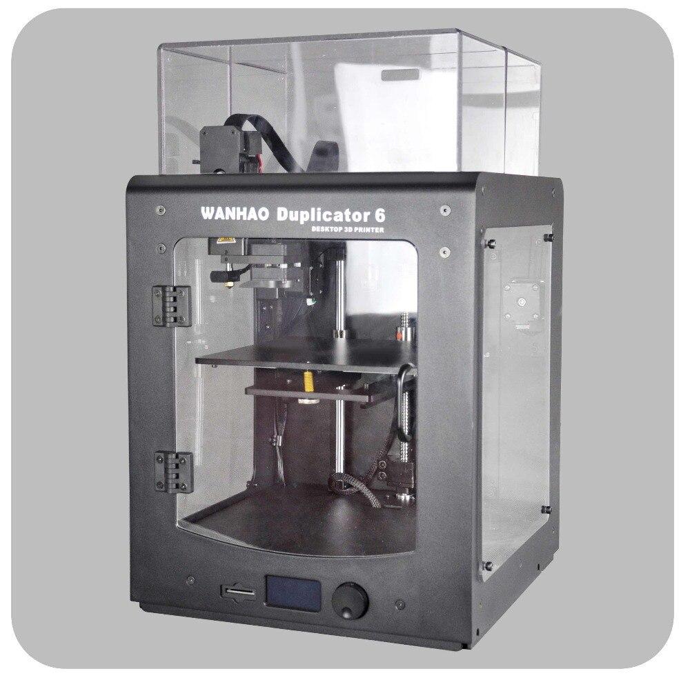 Новинка 2018 Ванхао Дубликатор 6 PLUS - WANHAO D6 PLUS - 3D принтер. В комплекте с акриловым каркасом для печати ABS. Автоматическое выравнивание, новый экс...
