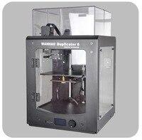 Новинка 2018 Ванхао Дубликатор 6 PLUS WANHAO D6 PLUS 3D принтер. В комплекте с акриловым каркасом для печати ABS. Автоматическое выравнивание, новый экс