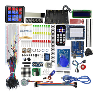 Smart Electronics Starter Kit UNO R3 For Arduino Step Motor Servo 1602 LCD Breadboard Jumper Wire