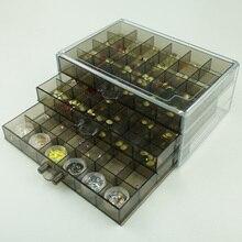 Алмазная Вышивка Инструменты для вышивки картин со стразами аксессуары прозрачный пластиковый ящик для хранения ювелирное сверло коробка для хранения 72 сетки 120 гр