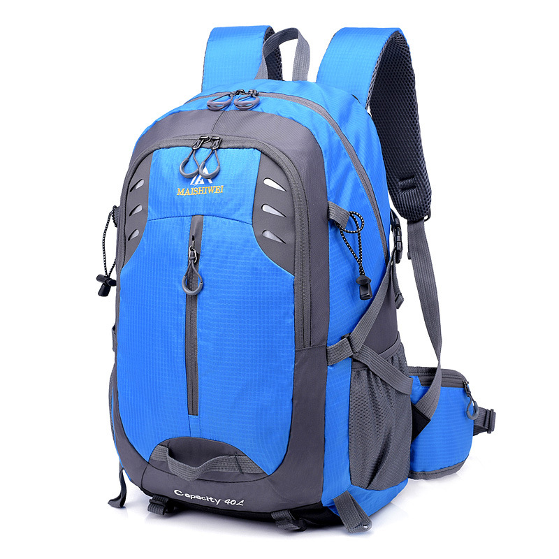 Men 40L Waterproof Backpack Unisex Travel Pack Sports Bag Pack Mountaineering Hiking Climbing Camping Outdoor Backpack For Male