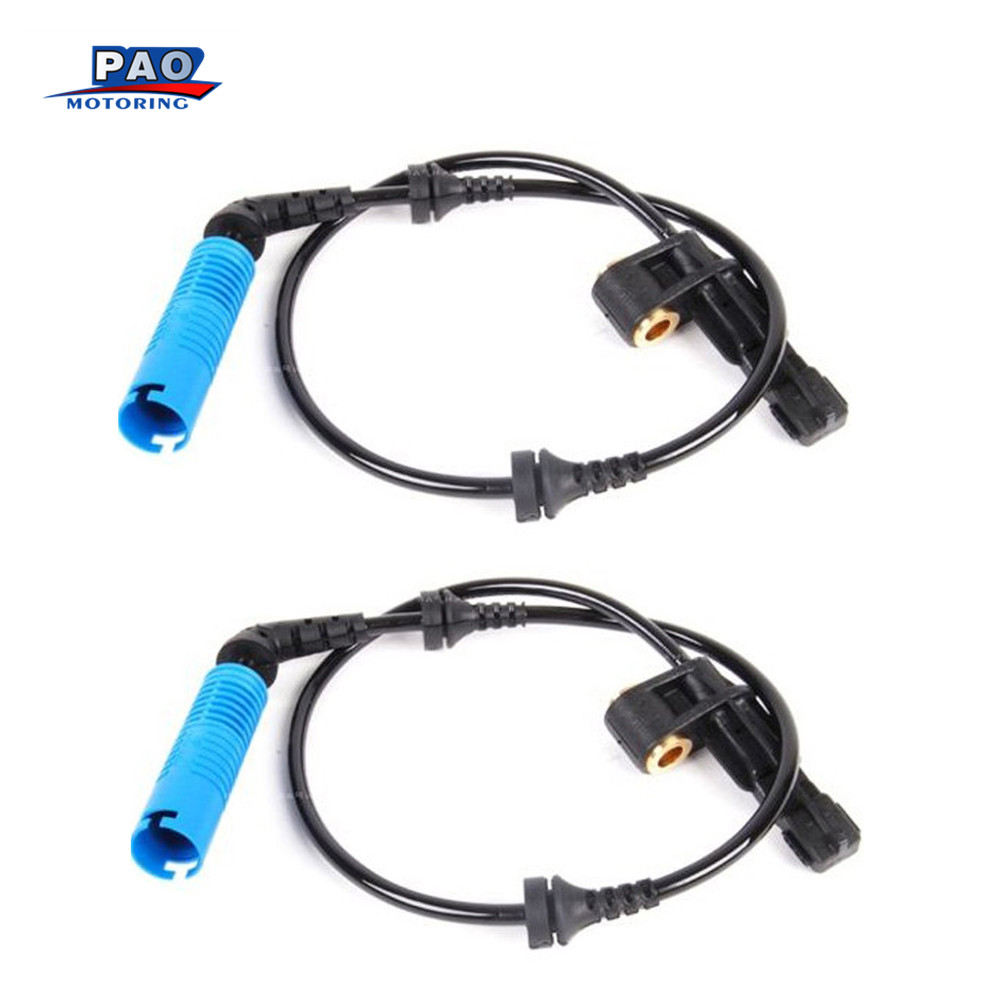 2PC ABS Wheel Speed Sensor Front Left For BMW E46 E85 E86 1999-2008 OEM 34526752681,3452 6752 681 sensor Car Part
