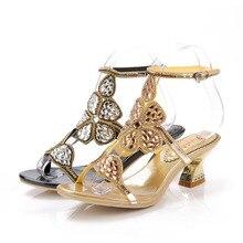Strass Braut Hochzeit Schuhe Reales Bild Frauen Sandalen Schnalle Mode Party Schuhe Damen Sexy Schuhe Zapatos Mujer