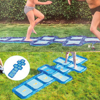 220cm Giant Sprinkler Water Mat Beach Play Pad For Children Baby Outdoor Lawn Sand Kids Toys Summer Backyard Swimming Pool Games
