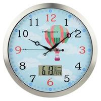 Kids Wall Clock Modern Design Mechanism Home Cuckoo Clock Secret Stash Shabby Chic Saat Home Decor O Clock Kids Room Home 50Q052