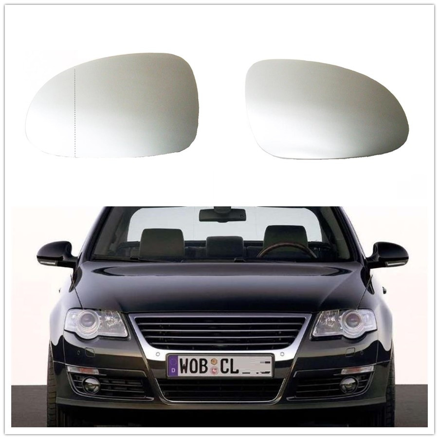 For VW Passat B6 CC 3C R36 TDI TFSI TSI 2006 2007 2008 2009 2010 2011 Car-Styling Mirror Glass Heated mzorange car led light for vw passat b6 sendan 2006 2007 2008 2009 2010 2011 car styling rear tail light lamp left right outer