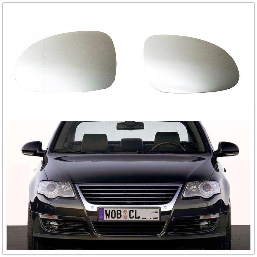 Para VW Passat CC 3C B6 R36 TDI TSI TFSI 2006 2007 2008 2009 2010 2011 Espelho de Carro-Styling vidro Aquecido