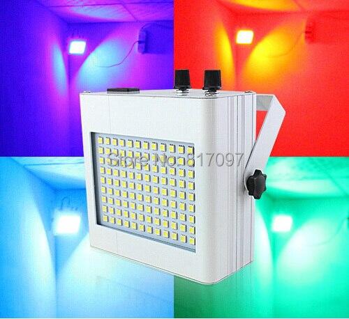 Coloridos DJ Luces estroboscopicas 108 piezas SMD5050 RGB Luz estroboscopica LED efectos de iluminacion DJ Partido