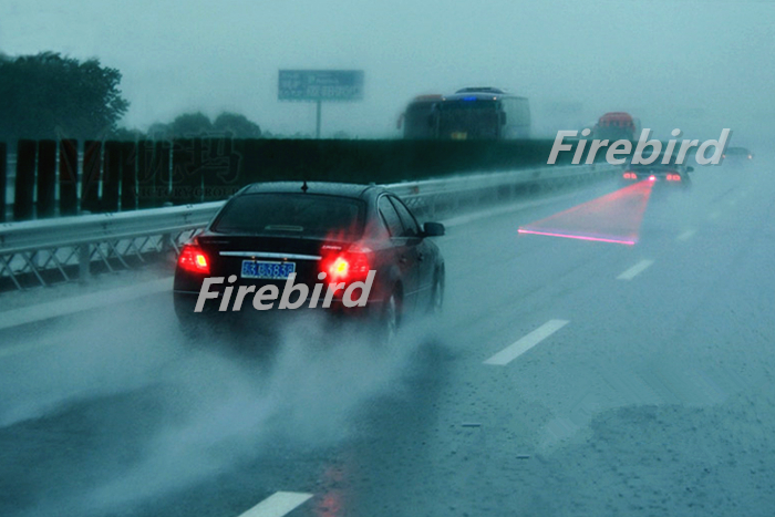 10 x Red waterproof LED laser warning light bulb, DC12V car moto infrared ray one line or cross line type brake fog lamp