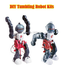 DIY Tumbling Robot Science Kits Robot Toy Experiment Kit assembling 3-Mode Assembly Toy Kit Creative Educational Toy For Kids(China)