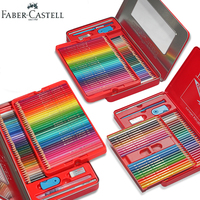 Faber Castell Watercolor Pencils 24 36 48 60 72 Tin Set Water Soluble Premier Colored Pencil