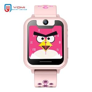 Image 3 - Crianças relógio inteligente s6 relógio de bebê sim gprs rastreador em tempo real criança anti lost smartwatch relógio inteligente com câmera pk q528 q50 q90