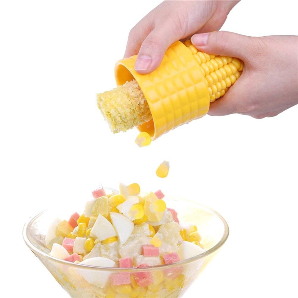 Практичный Нержавеющаясталь кукурузы зачистки сепаратор зерна удара резак для удаления молотилка для Кухня Пособия по кулинарии Инструм... ...