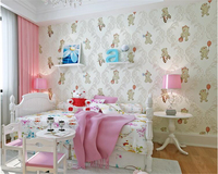 beibehang Fashion decorative painting wallpaper Cubs three dimensional bronzing nonwoven wallpaper interior wall papel de parede