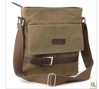 Canvas Bag Leisure-Bags Shoulder Korean-Fashion New for Men Diagonal Man
