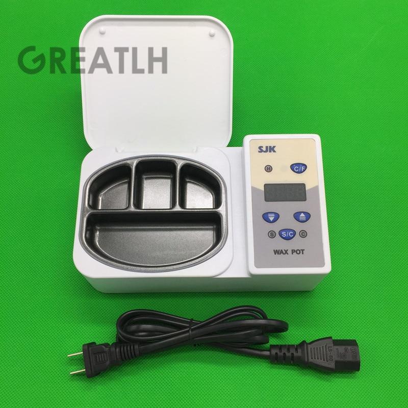 Stomatologiczne LED wyświetlacz 4 dobrze podgrzewacz wosku który chyba przenośny analogowy podgrzewacz stomatologiczne sprzęt laboratoryjny, materiały stomatologiczne w Wybielanie zębów od Uroda i zdrowie na  Grupa 1