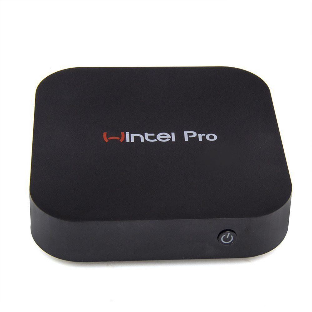 Wintel W8 Pro Mini PC Windows 10 OS TV Box Intel Z8300 4-Cores 2GB/32GB Pocket PC 4K HD HDMI TV Player Support Wifi Bluetooth wintel w8 mini pc windows 10 android 4 4 intel quad core 2gb 32gb hdmi