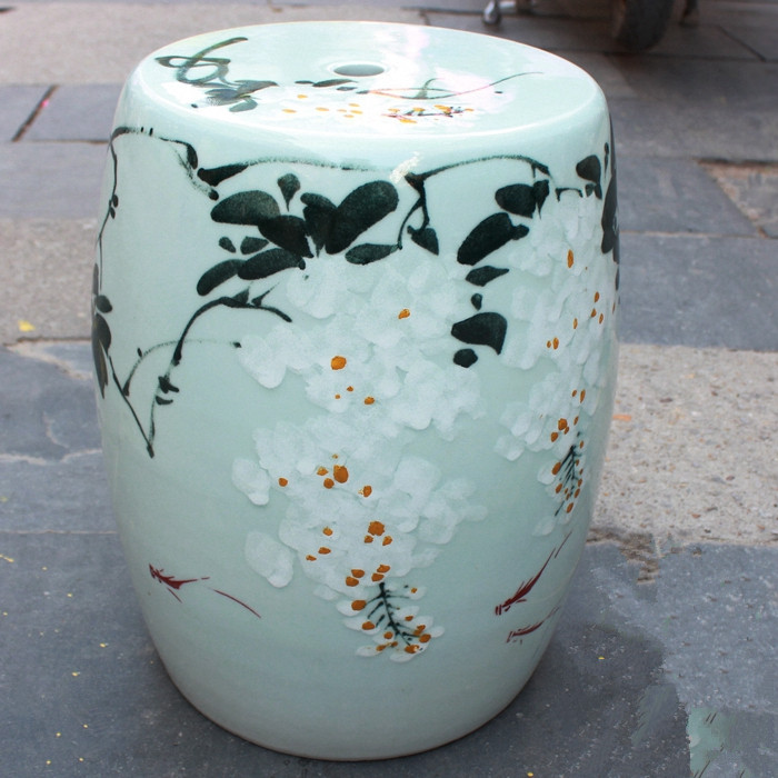 Phenomenal Us 269 0 Jingdezhen Porcelain Garden Stool Ceramic Stool For Dressing Table Chinese Blue And White Hand Painted Garden Stool In Stools Ottomans Gamerscity Chair Design For Home Gamerscityorg