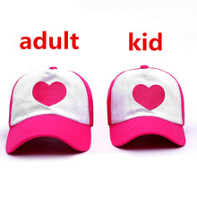VORON Girls Children Cute Gravity Falls Dipper Mabel Rose Heart Mesh Summer Caps Girl Cool Net Mesh Trucker Hat Cap Summer(China)