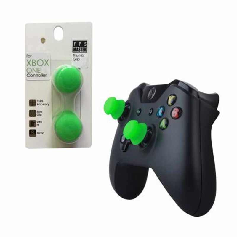 Silikon Analog Grip Pegangan Jempol Topi Cover untuk Xbox One Controller Skull & Co. FPS Master Jempol Cover untuk Xbox One Gamepad