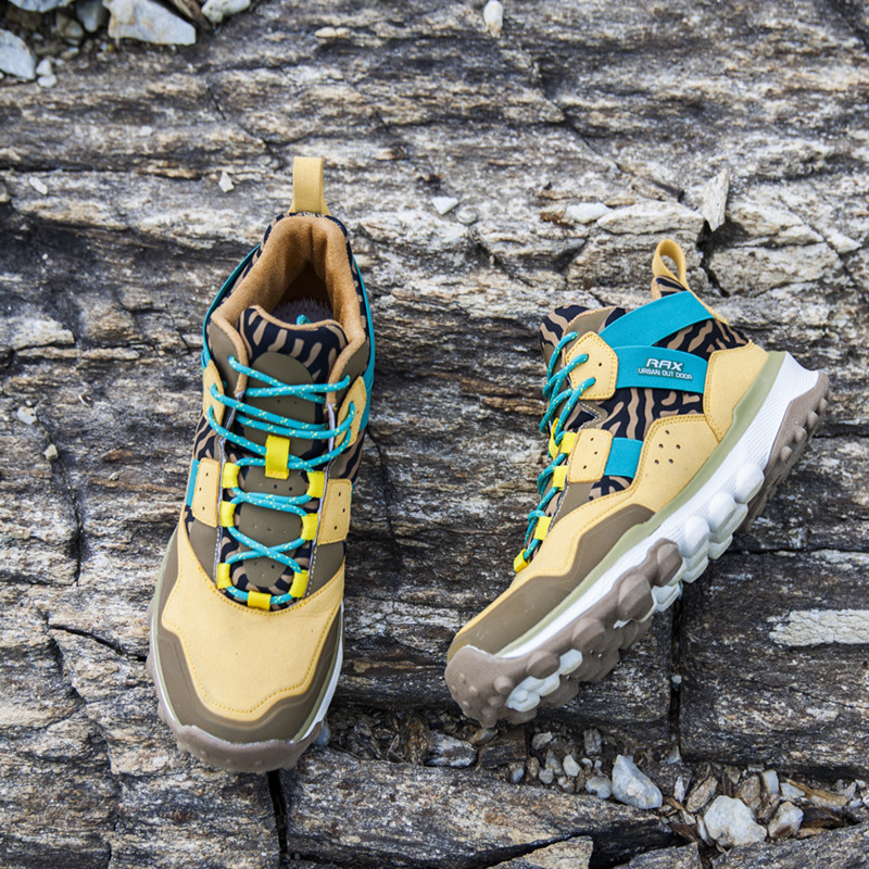 RAX Womens Hiking Shoes Waterproof Hiking Boots Men Outdoor Breathable Walking Sneakers Winter Boots Women Mountain Climbing