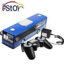 Модель городского автобуса, 6-канальный 2,4 ГГц пульт дистанционного управления, функция быстрого запуска одной кнопкой, реалистичные звук и освещение
