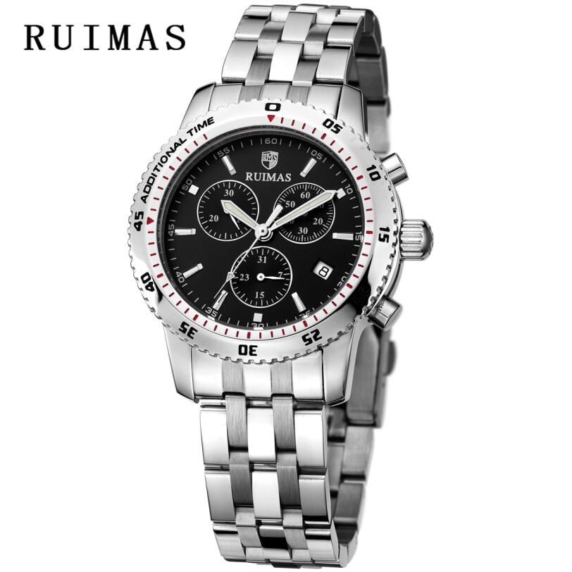 RUIMAS Швейцария Watch брендтері Спорттық - Ерлердің сағаттары - фото 2