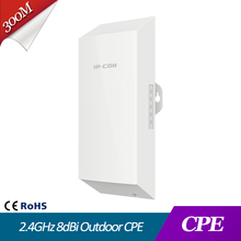 2.4GHz 8dBi Outdoor CPE wifi bridge ruckus access point outdoor IP65 500m+ wireless data transmission Point to