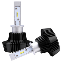 2x HQ Philips Chips LED 160W 16000LM Headlight Kit Beam Bulbs H1 H3 H7 H8 6K
