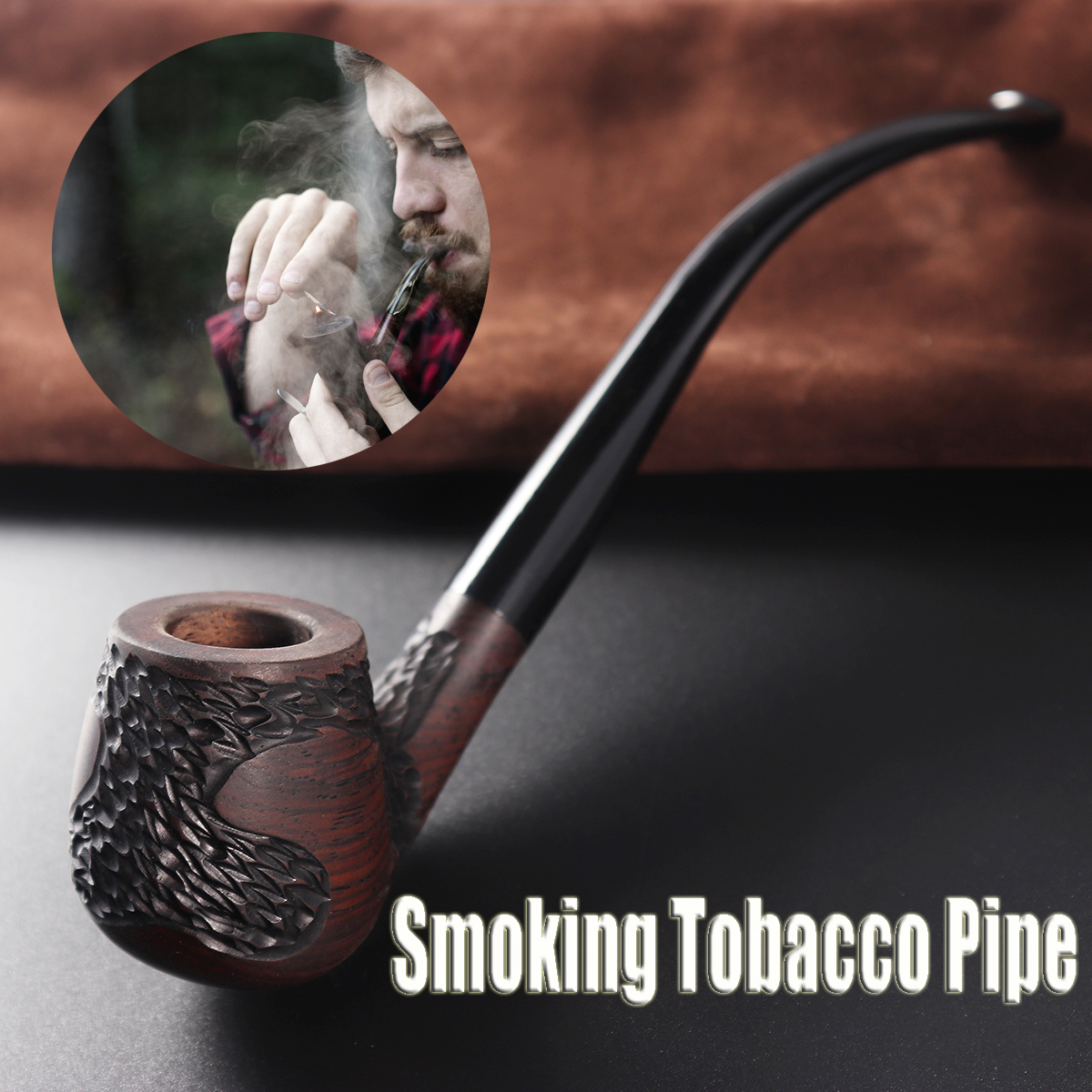 top 10 most popular long smoking tobacco pipe brands and get
