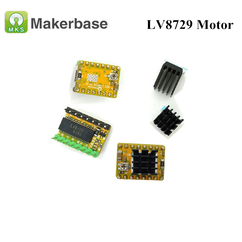 5pcs 3D Printer Parts Low Noise 4-layer LV8729 Stepper Motor Driver Module Support 6V-36V full microstep driver controll5pcs 3D Printer Parts Low Noise 4-layer LV8729 Stepper Motor Driver Module Support 6V-36V full microstep driver controll