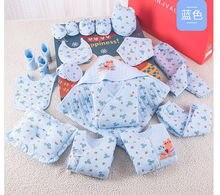 19 шт новогодний подарок для новорожденных девочек одежда из