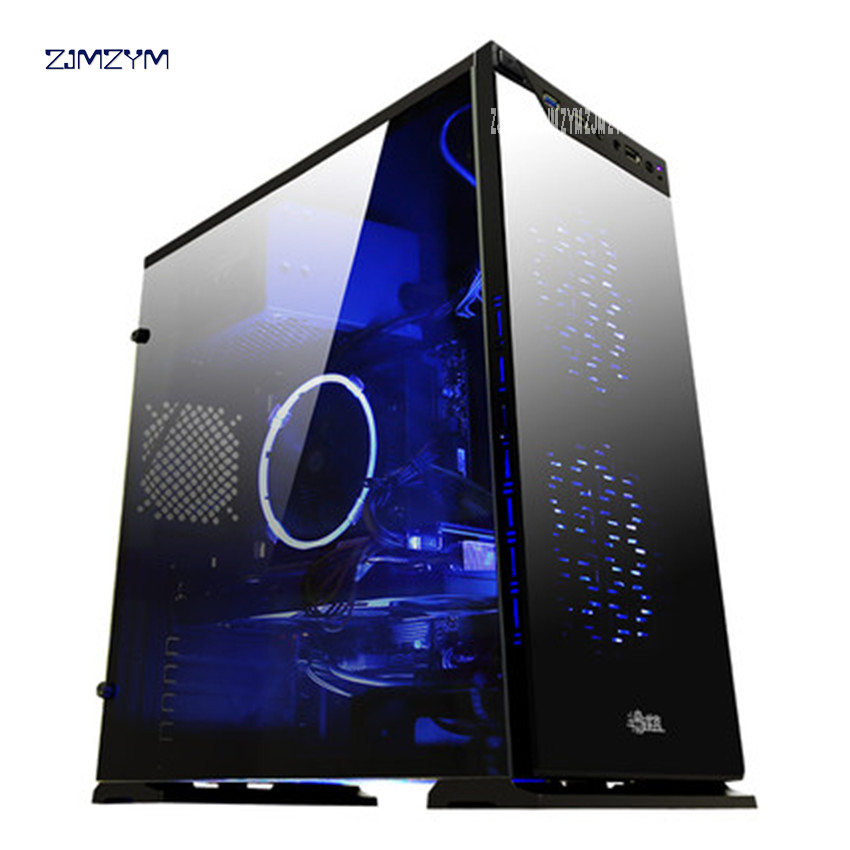 i7 7700 / GTX1060 Alone Aas Desktop DIY Game Machine 120GB Motherboard 8G RAM DDR4 Computer Case Desktop Game Assembly Machine