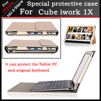 Original Business Stand Pu Leather Case For Cube Iwork1X 11 6 Inch Tablet PC Fashion Keyboard